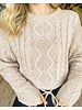 Wind Chill Cable Knit Sweater