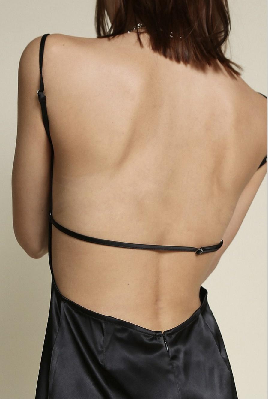 Brigitte Satin Dress