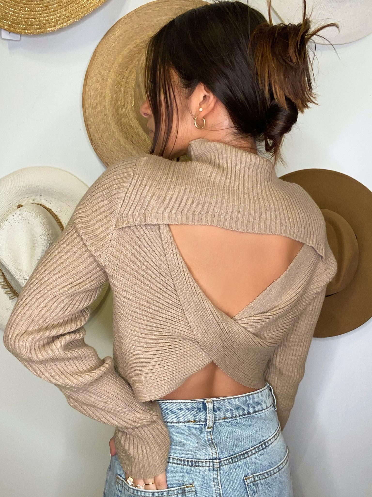 Stella Cut-Out Sweater