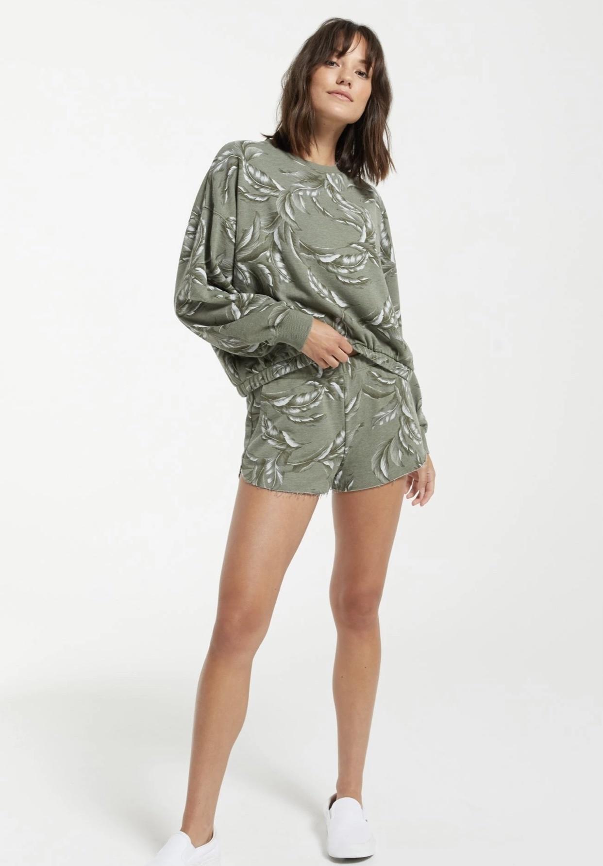 Kayla Palm Shorts