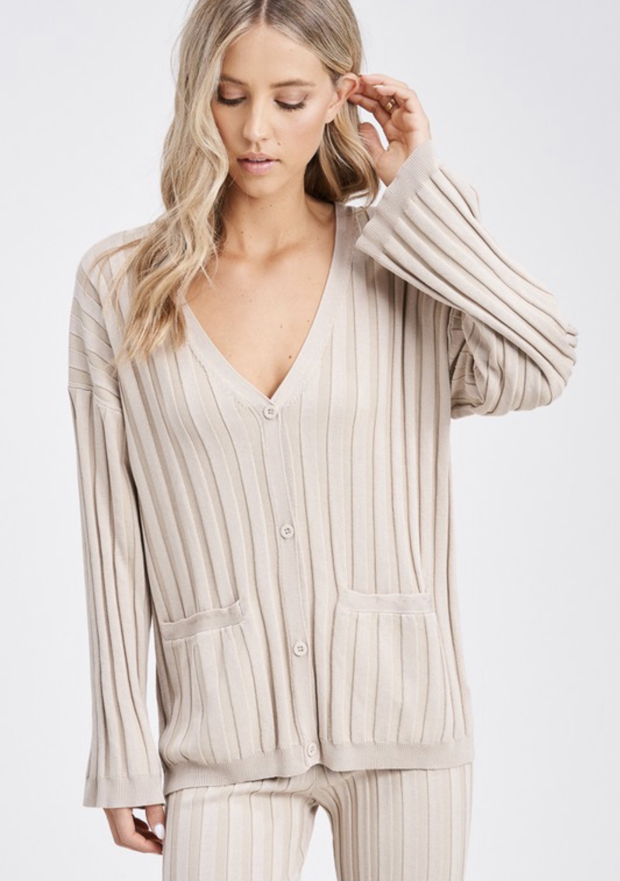 Blair Ribbed Cardigan