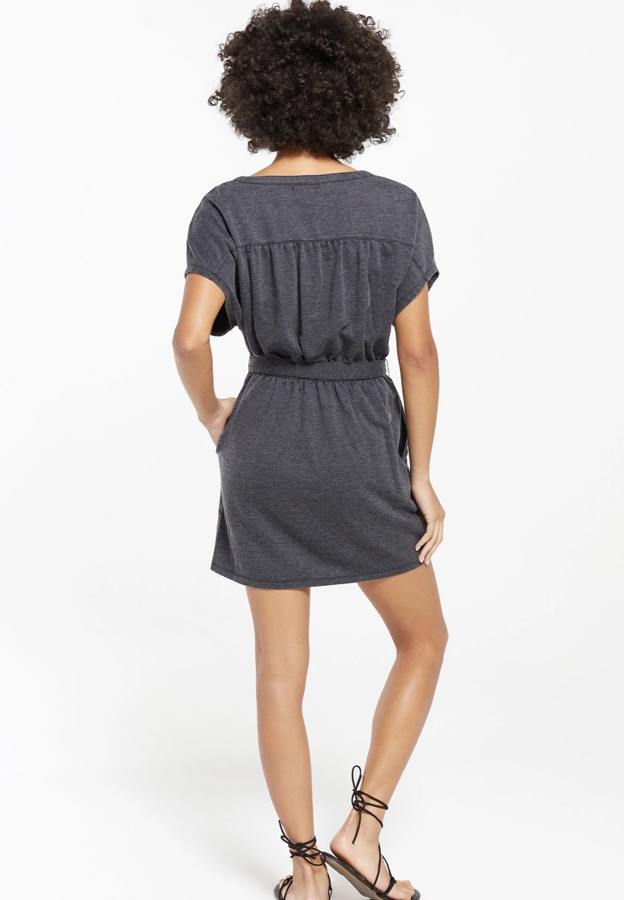 Thea Terry Dress
