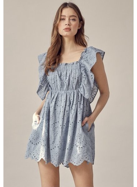 Bryn Eyelet Dress