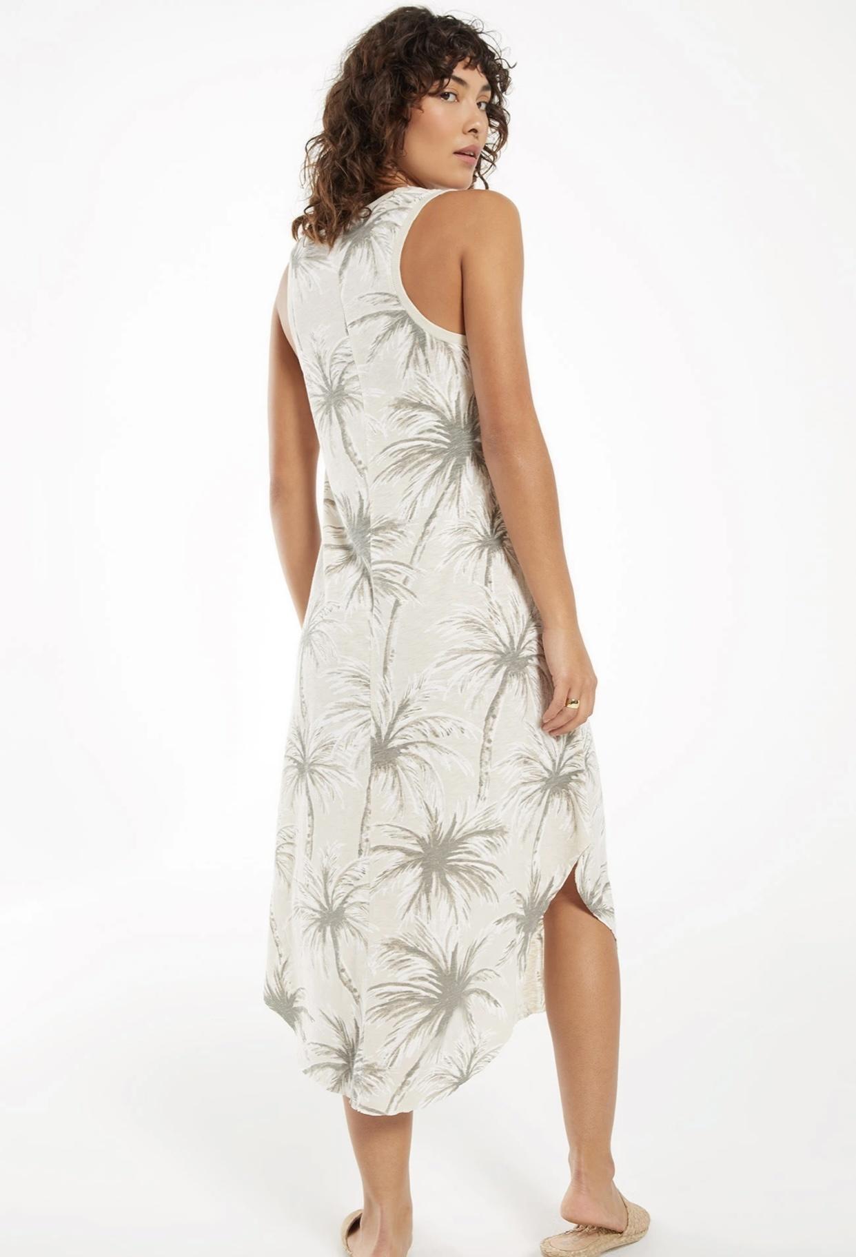 Reverie Coconut Palm Dress