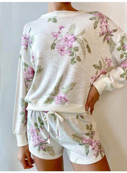 Elle Floral Sweatshirt