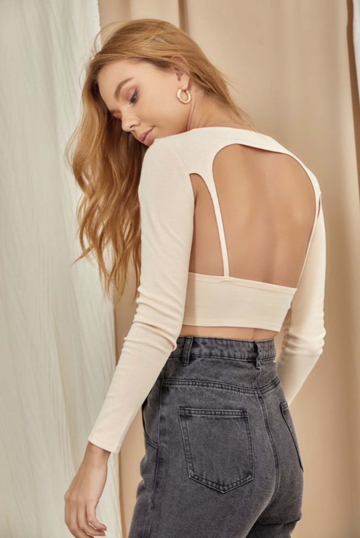 Back At It Knit Top