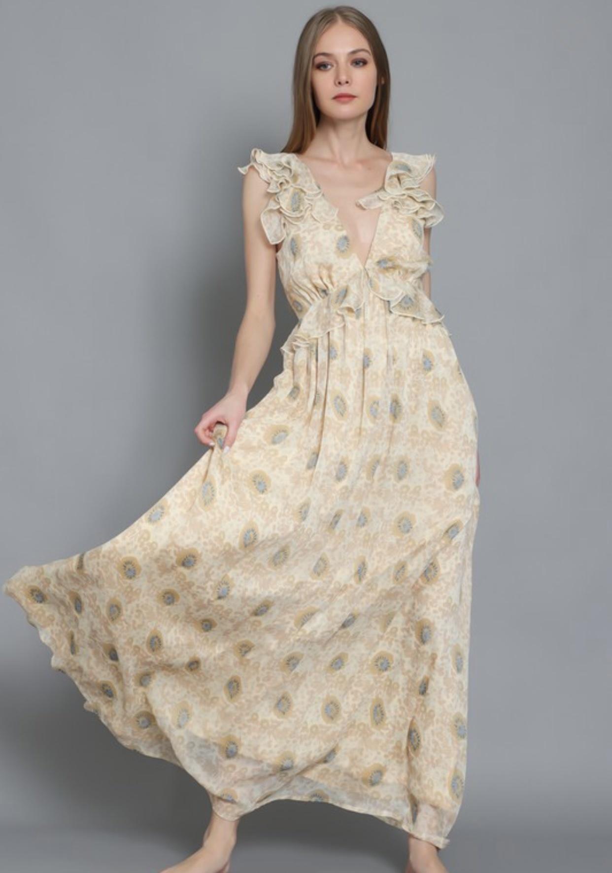 Marseilles Maxi Dress