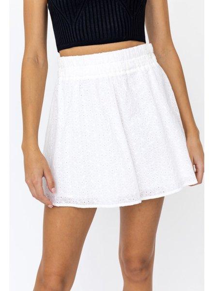 Alana Eyelet Skirt