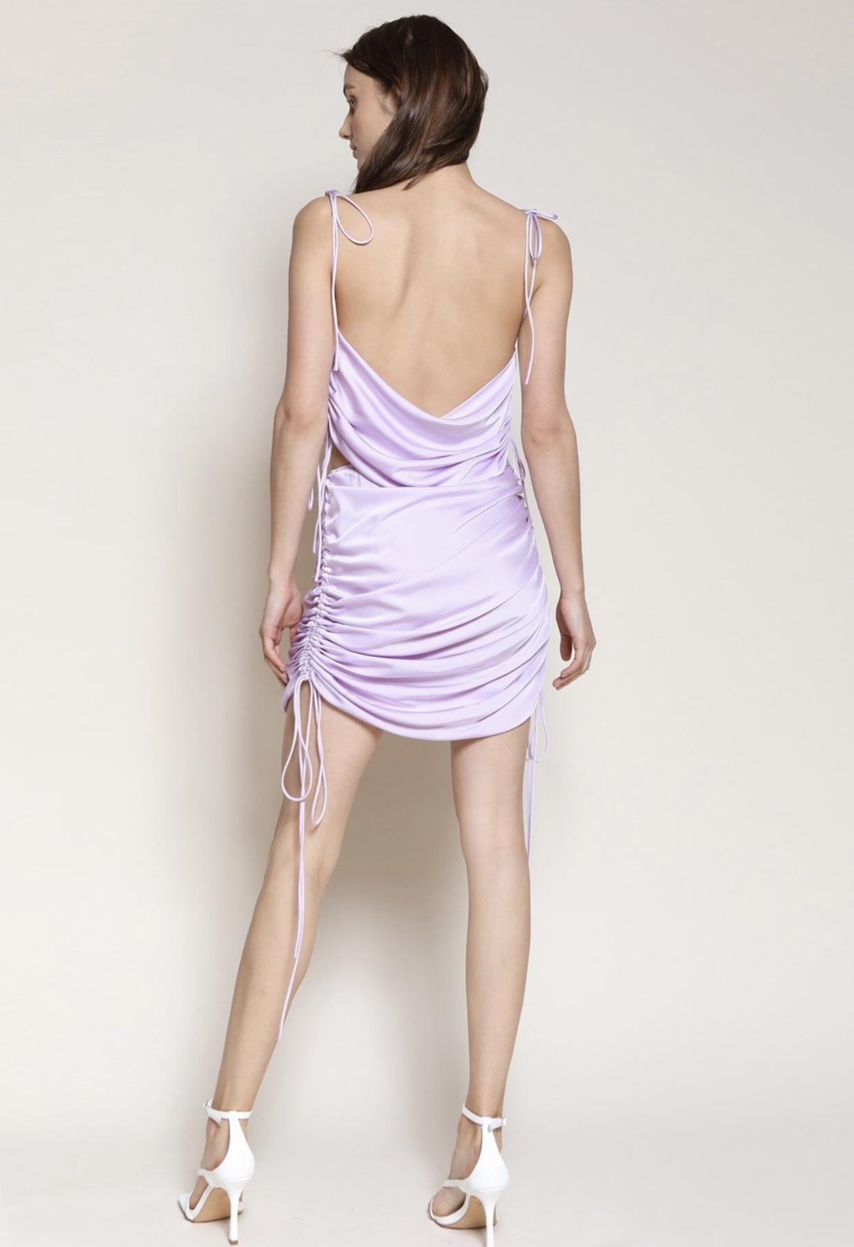 Jolie Satin Skirt