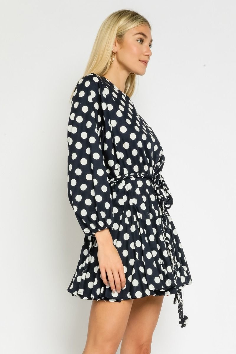 Classic Dotted Dress