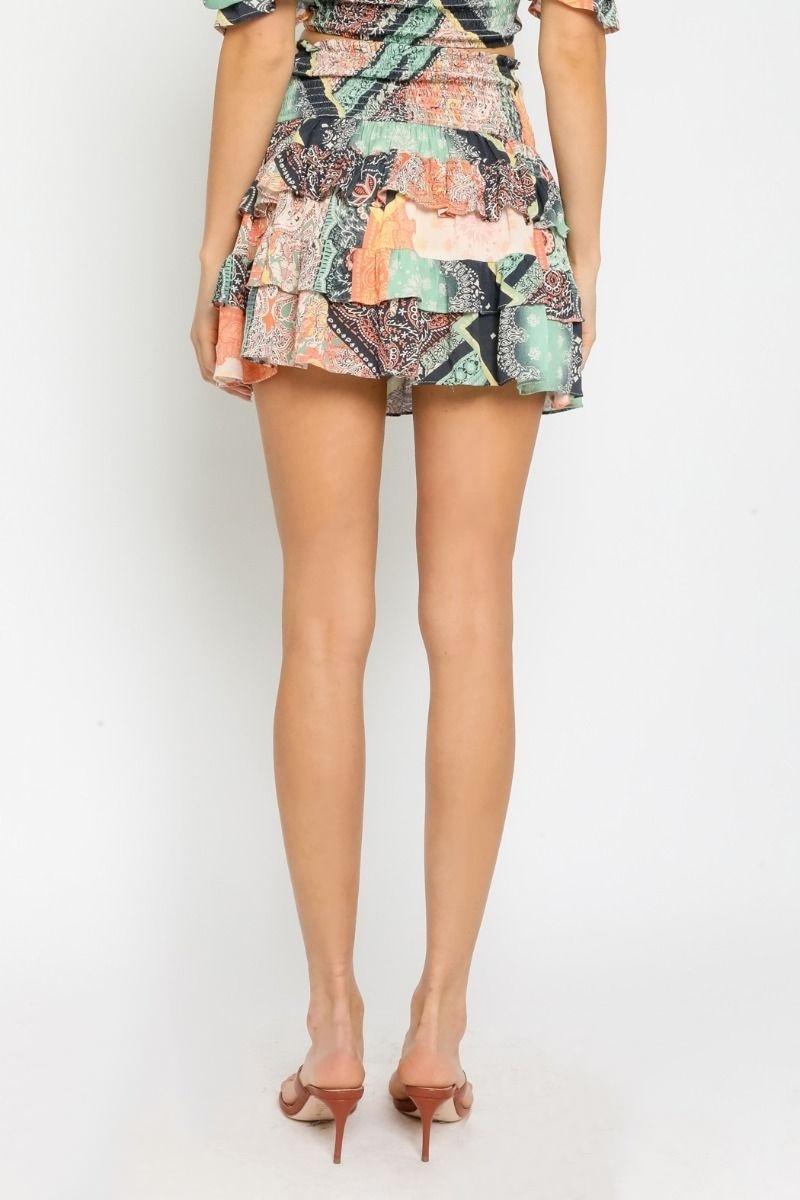 Deya Patchwork Skirt