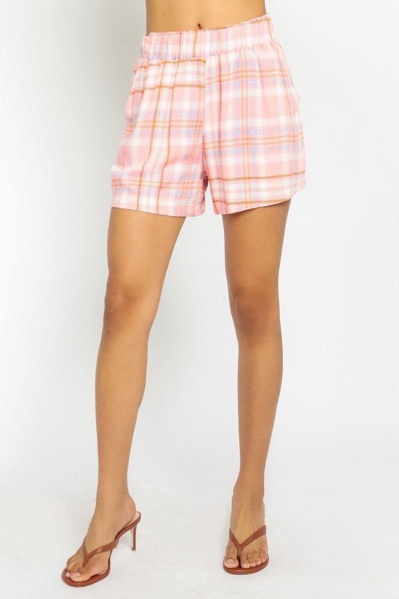 Audrey Plaid Shorts