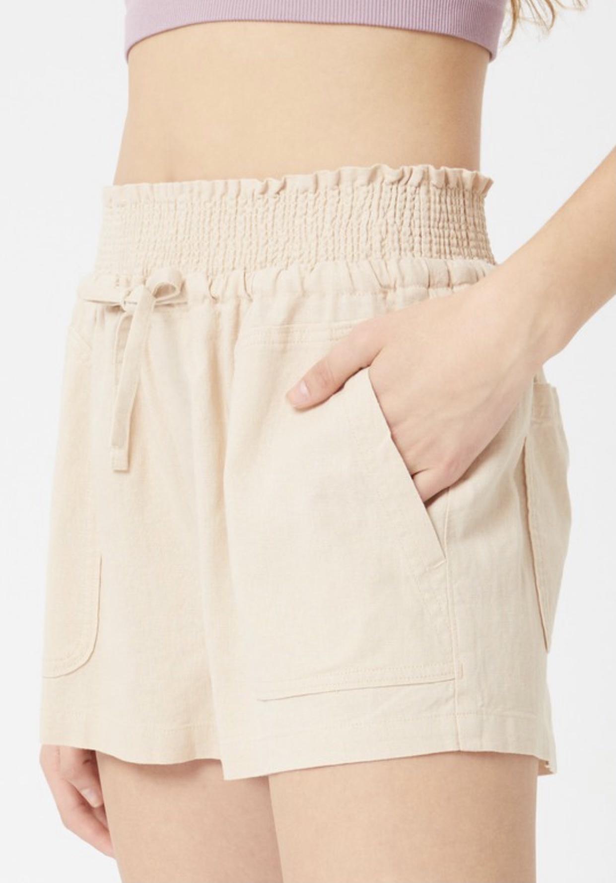 Boardwalk Linen Shorts