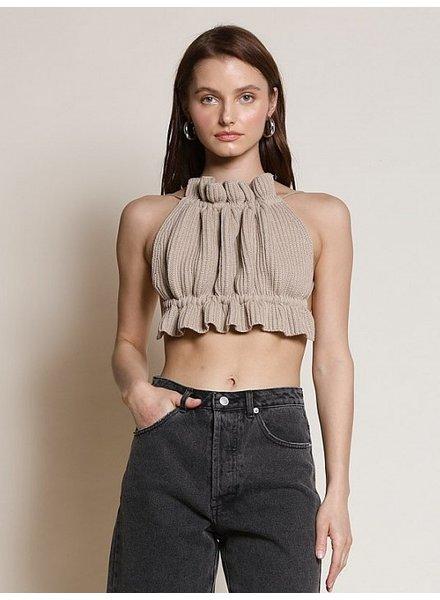 Isadora Knitted Crop