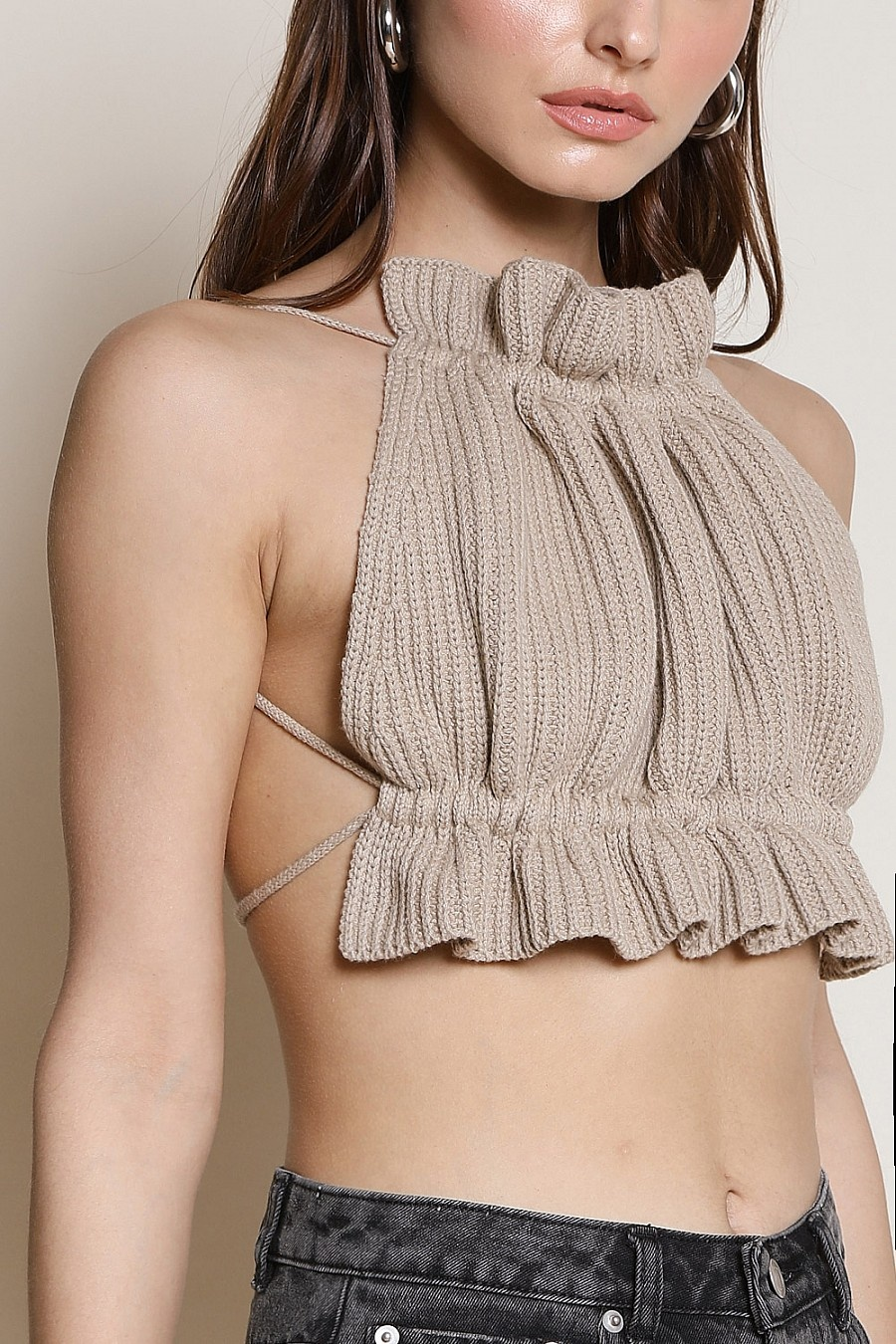 Isadora Knitted Crop