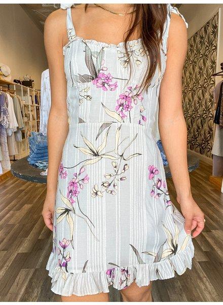 Orchid Garden Dress