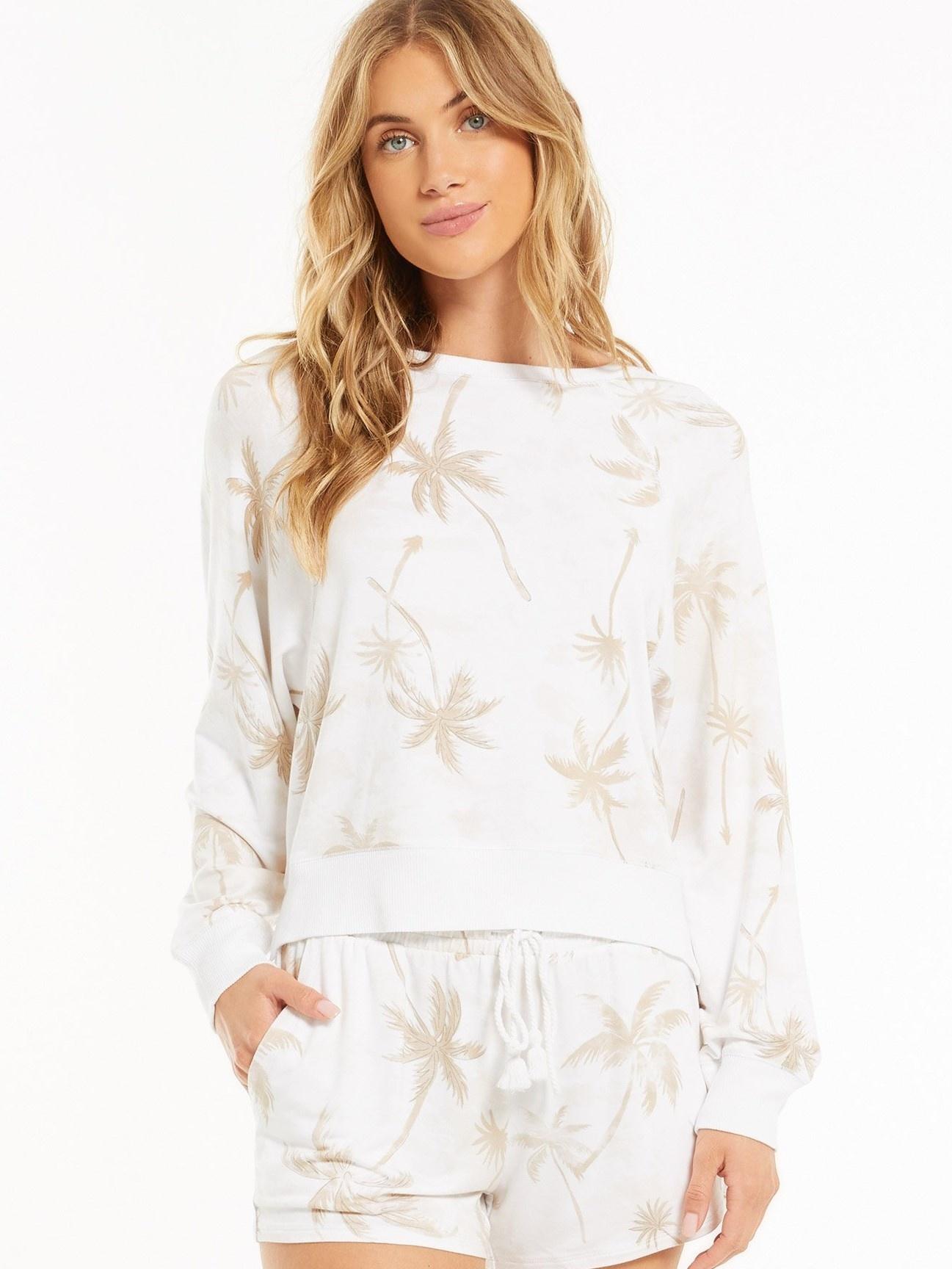 Cruise Palm Sleep Over Sweatshirt