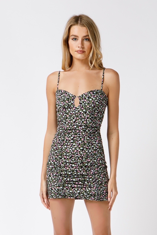 Lila Floral Dress