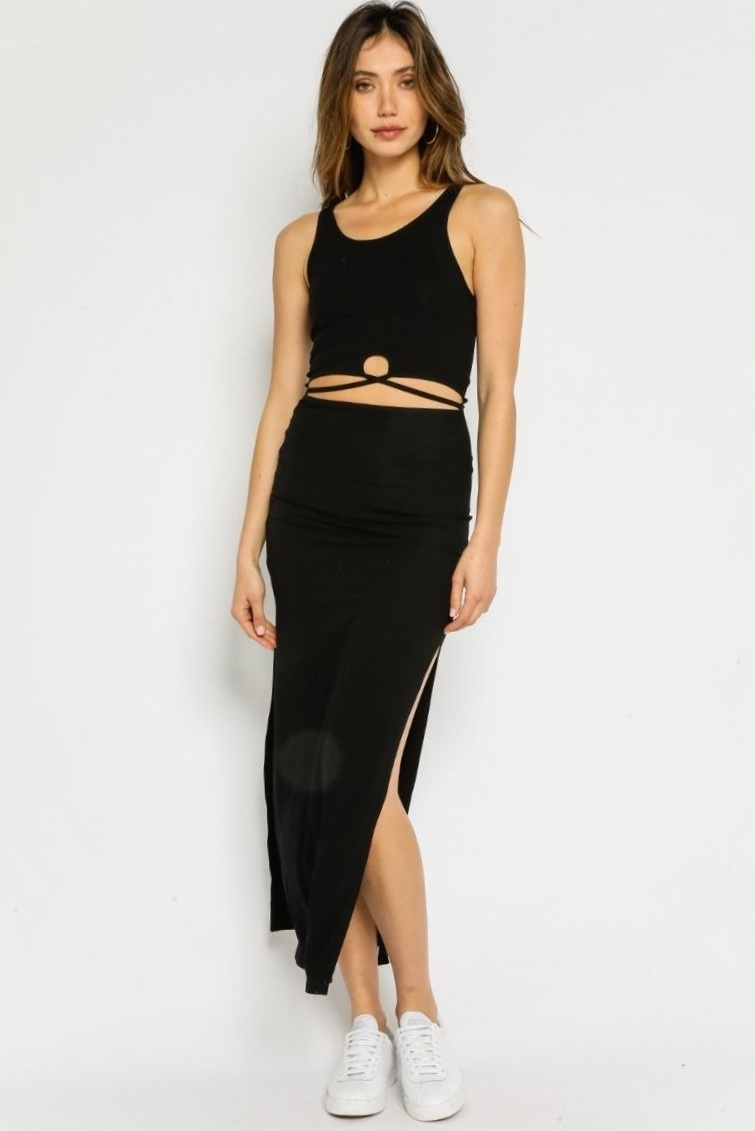 Dominique Cut-Out Dress