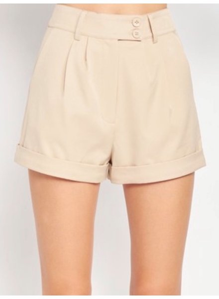 Riley Pleated Shorts