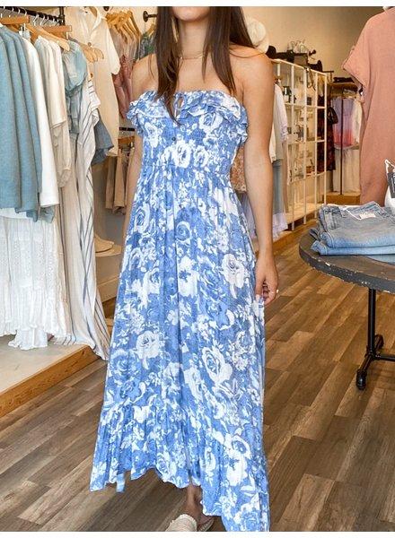 Rose Garden Midi Dress