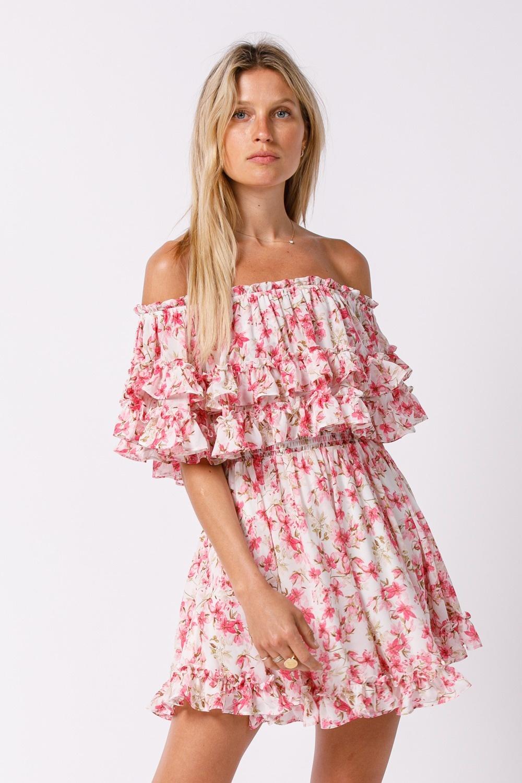 Allure Off-the-Shoulder Dress