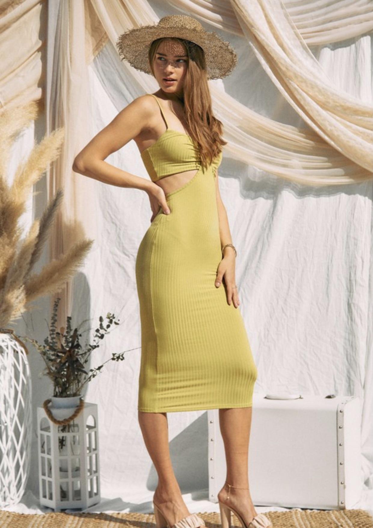 Magic Hour Cut-Out Dress