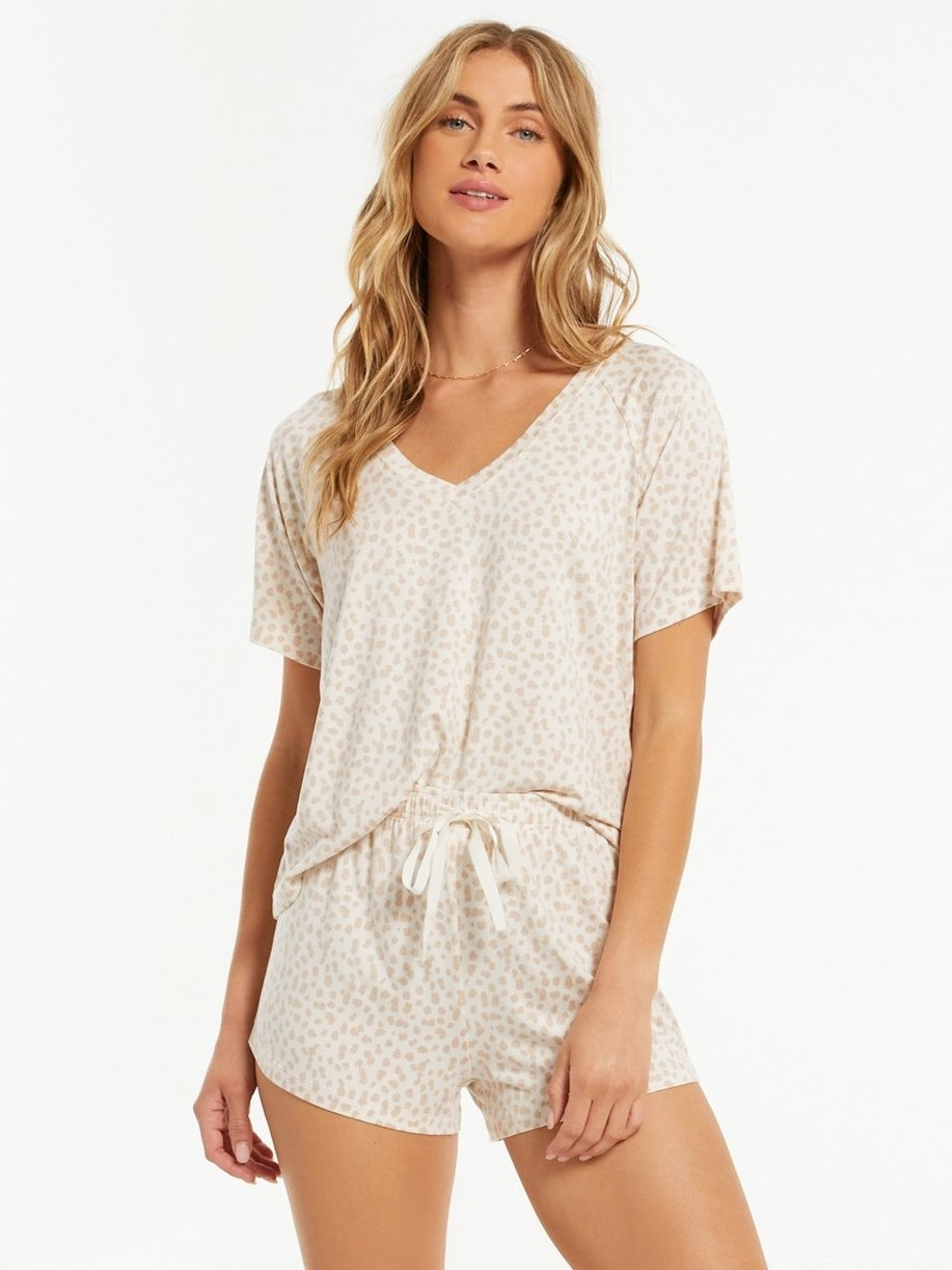 Lay Low Leopard V-Neck
