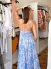 Antoinette Paisley Maxi Dress