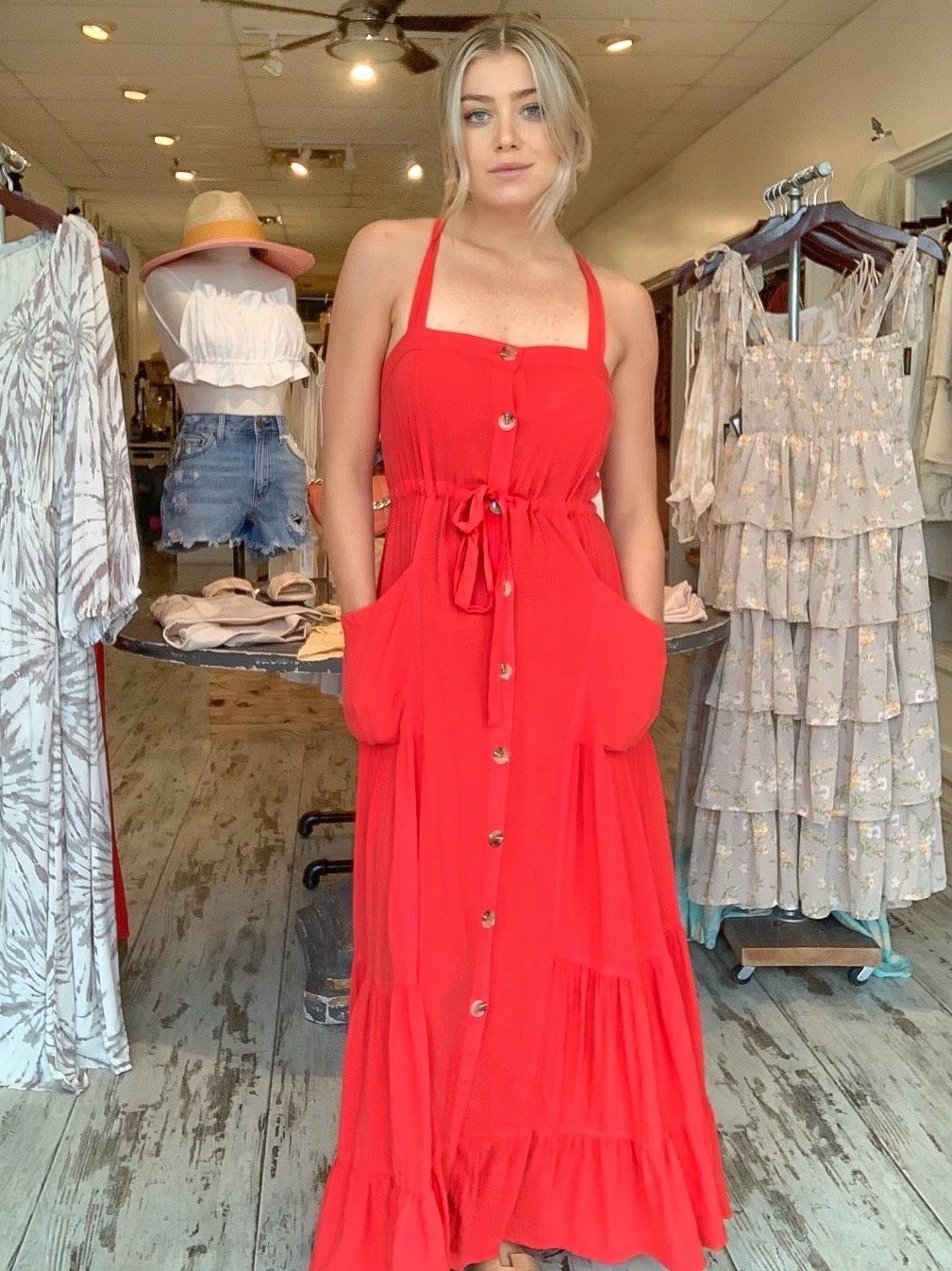 Gracie Linen Dress