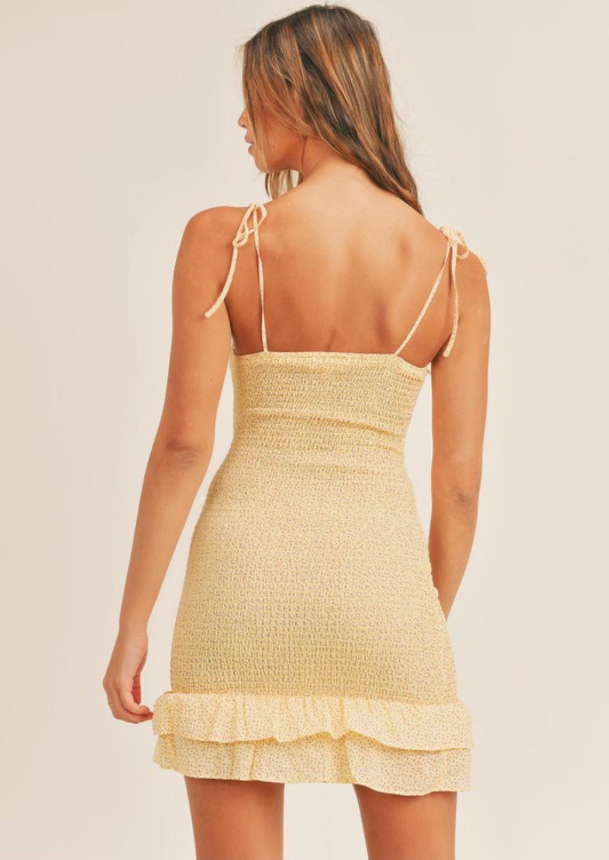 Cameron Smocked Dress