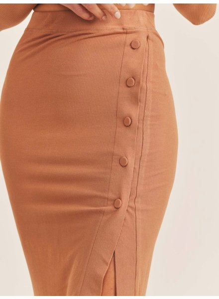 Adrienne Ribbed Skirt