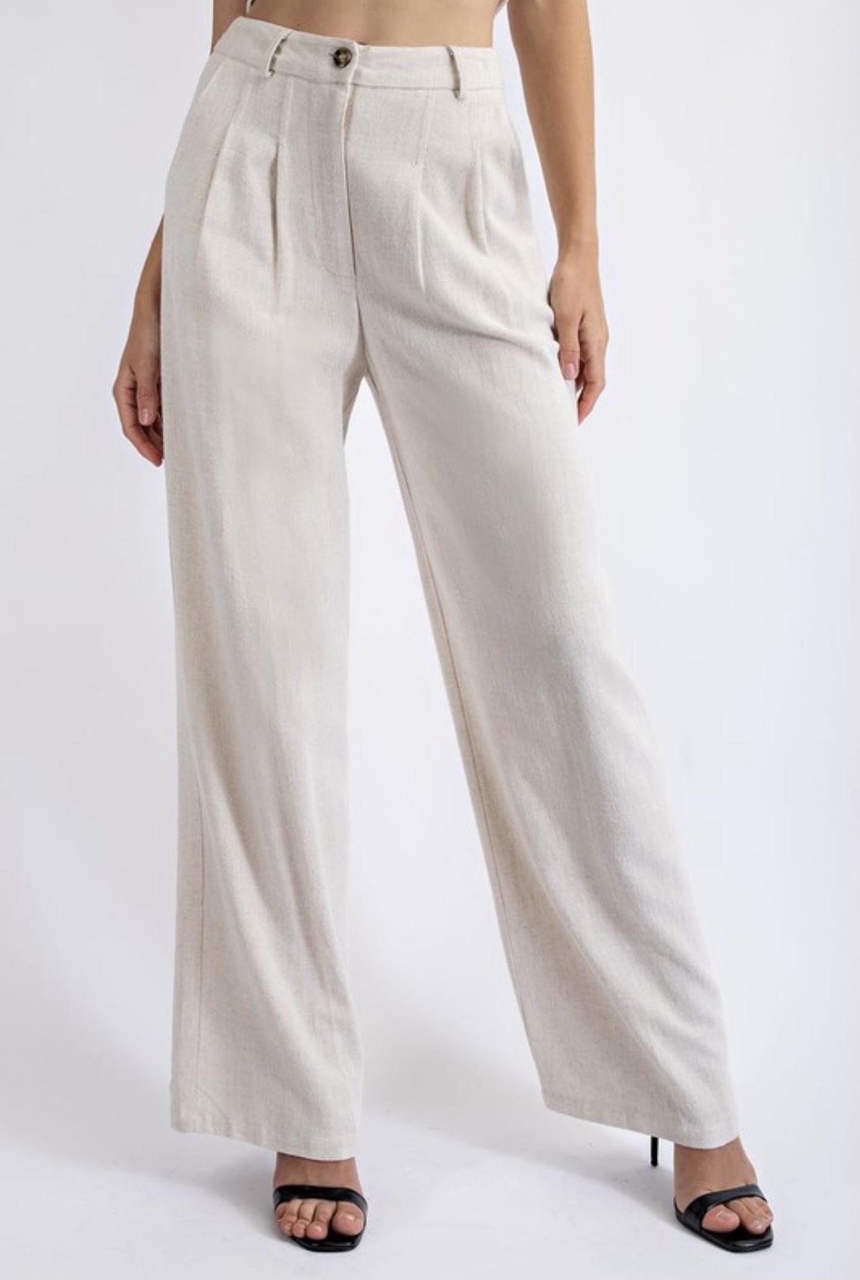 Sabine Linen Trousers