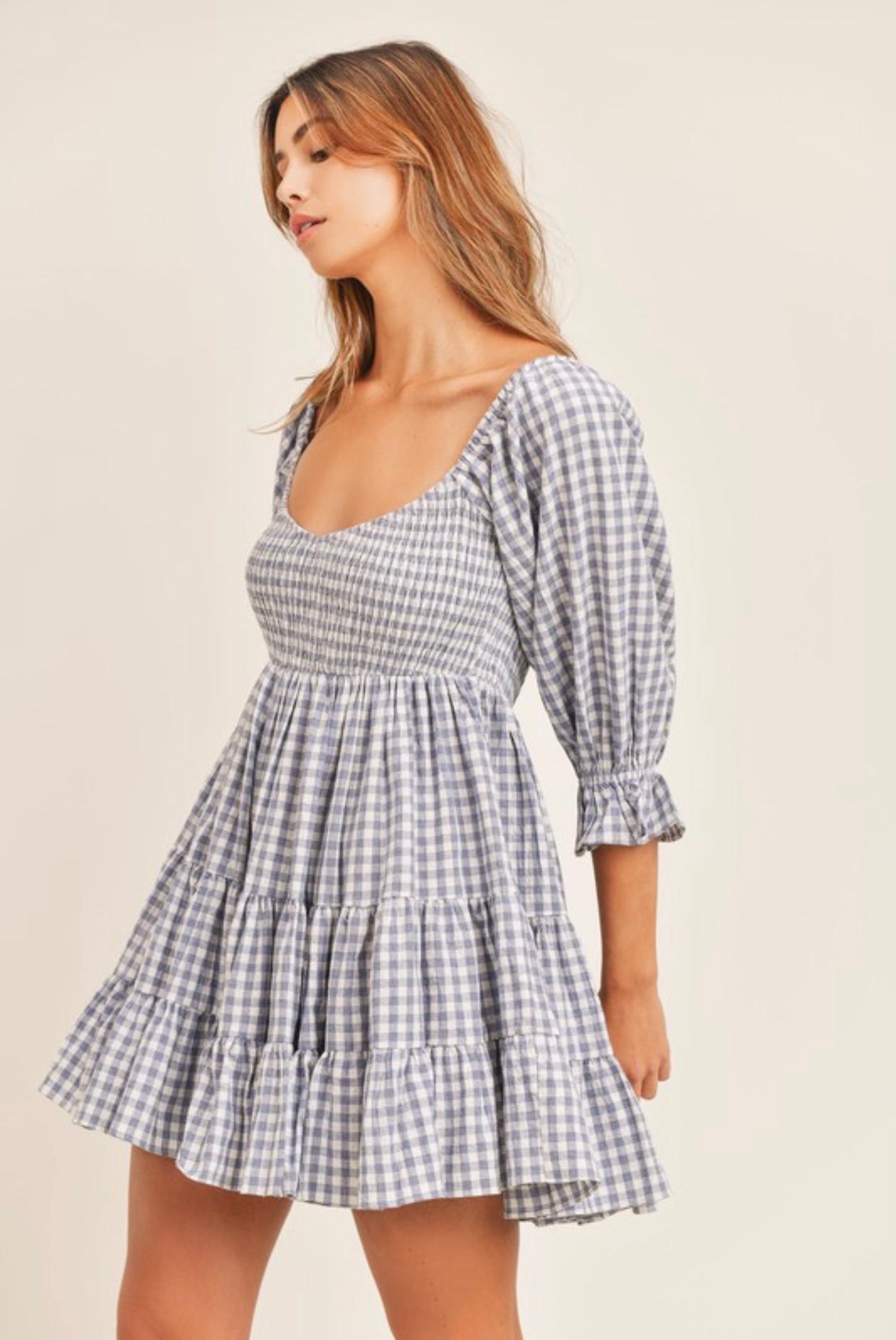 Layla Gingham Dress