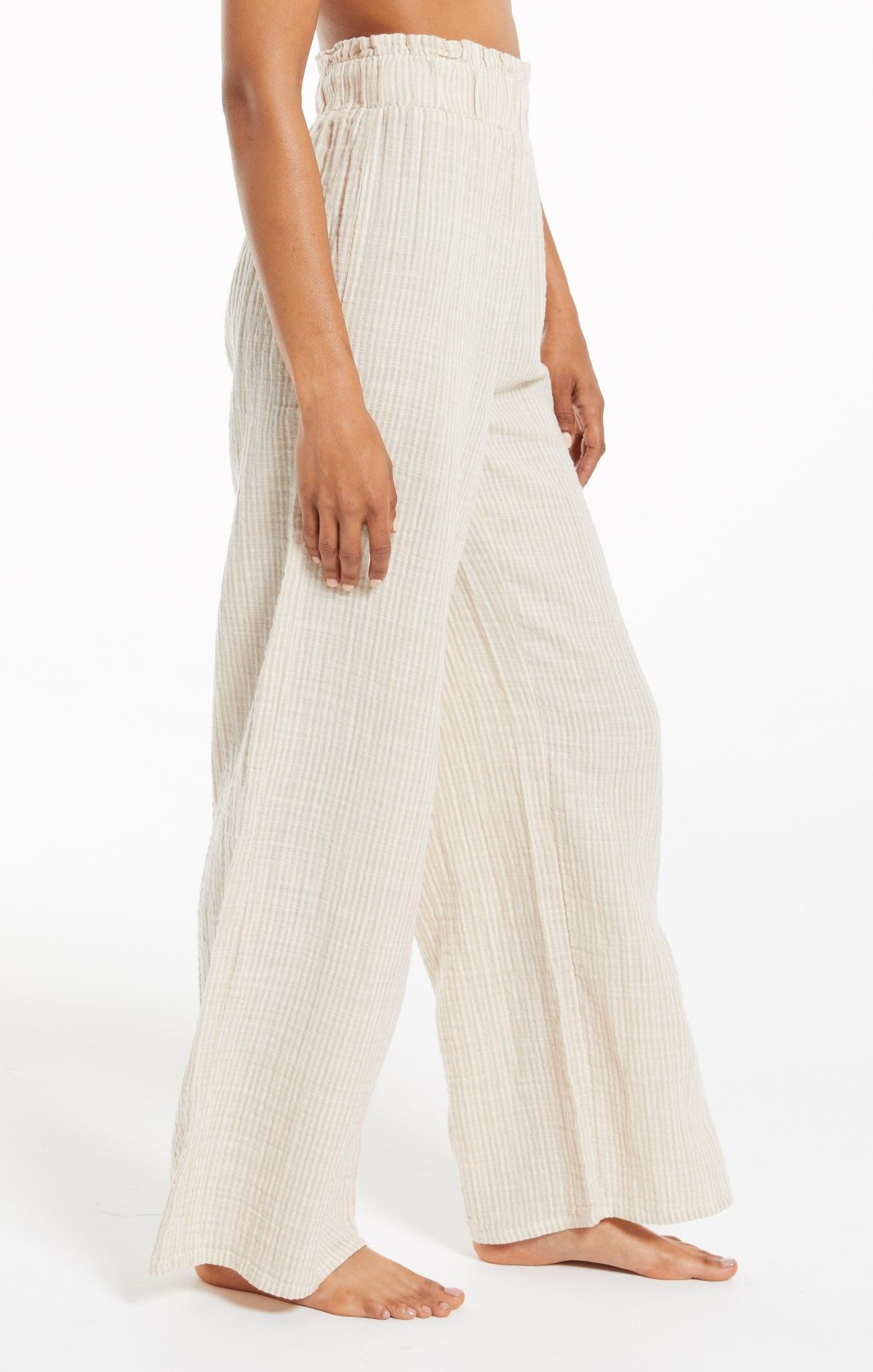 Sunrise Stripe Gauze Pants