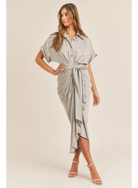 Jolie Tie Midi Dress