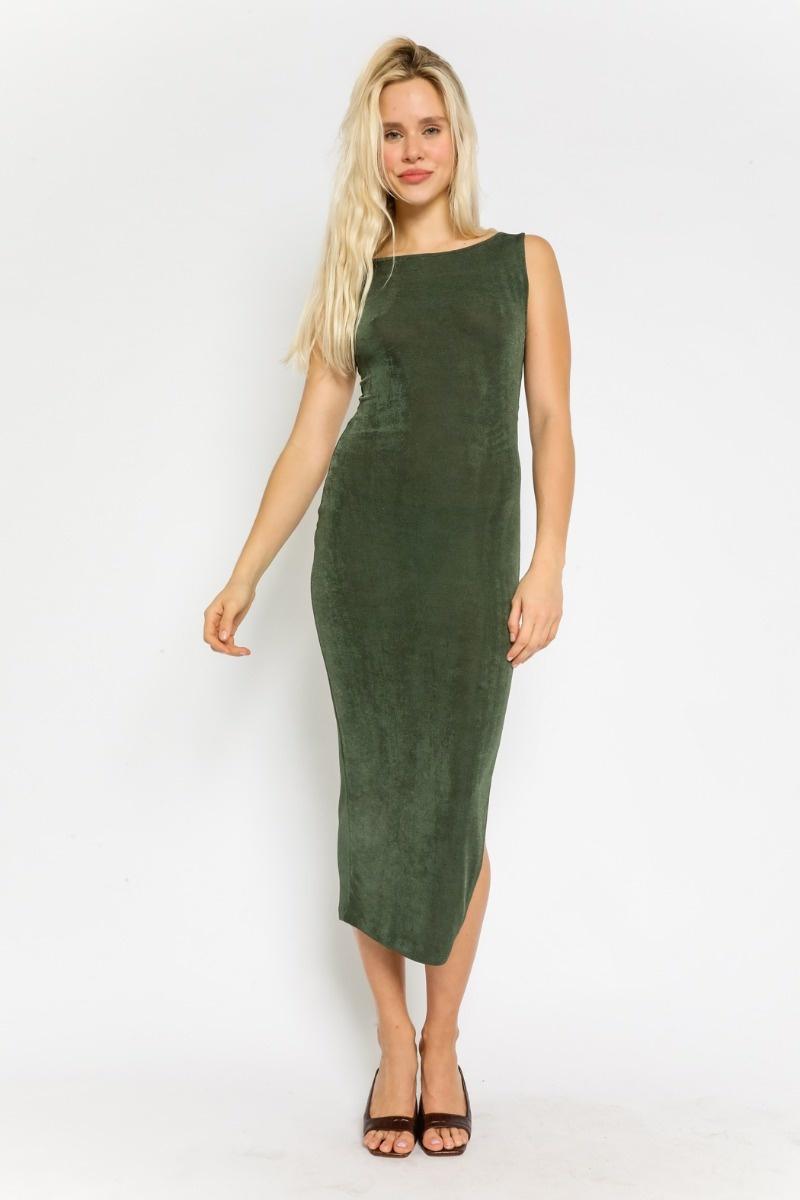 Envy Fitted Midi Dress