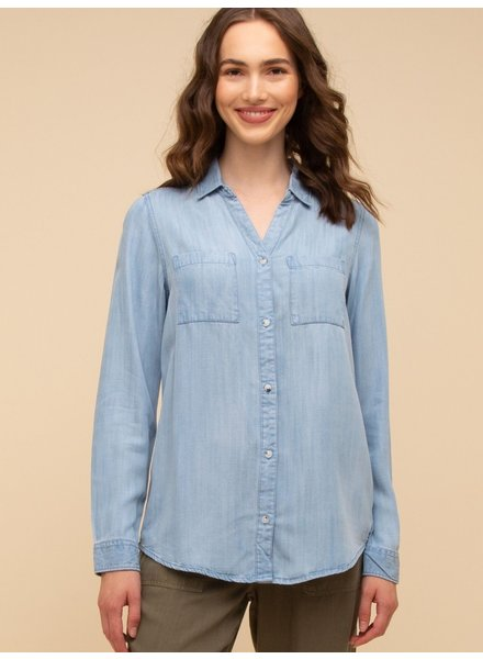Silas Chambray Button-Up