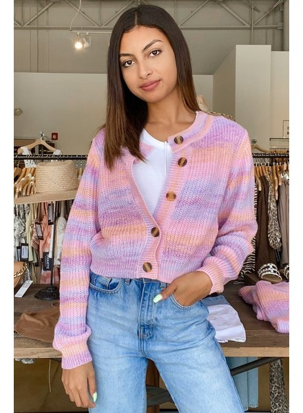 Candy Ombre Cardigan