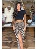 Amahle Zebra Skirt