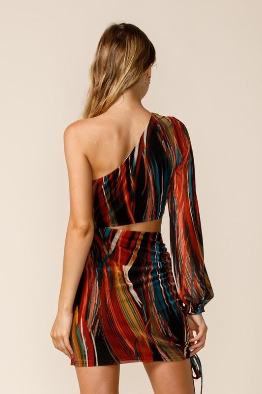 Multi Feels Cut-Out Dress