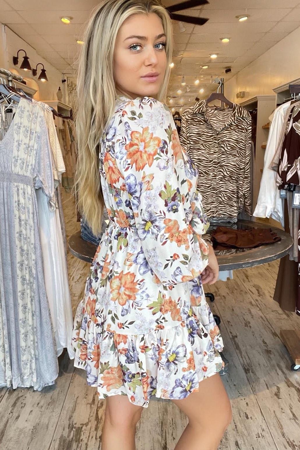 Verona Floral Dress