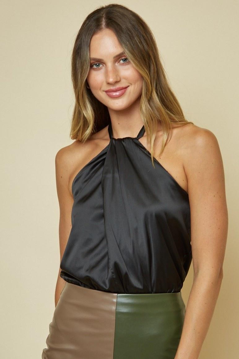 Bianca Satin Bodysuit
