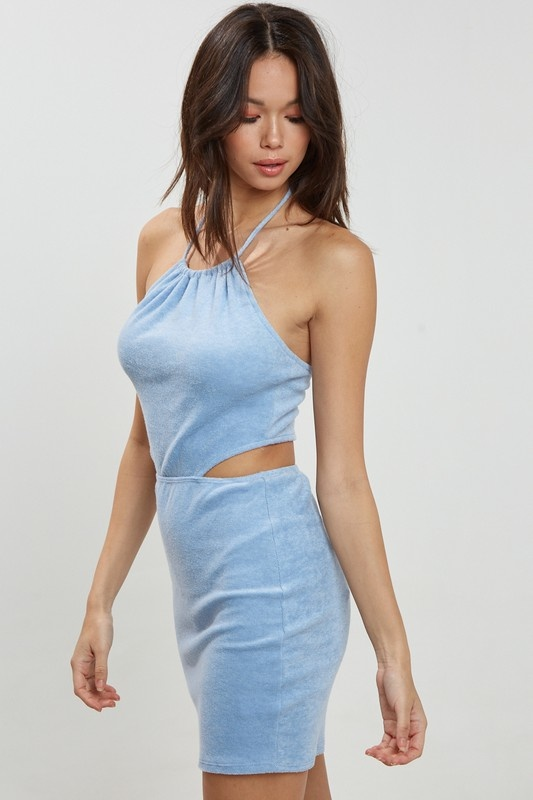 Pool Party Terry Cloth Dress