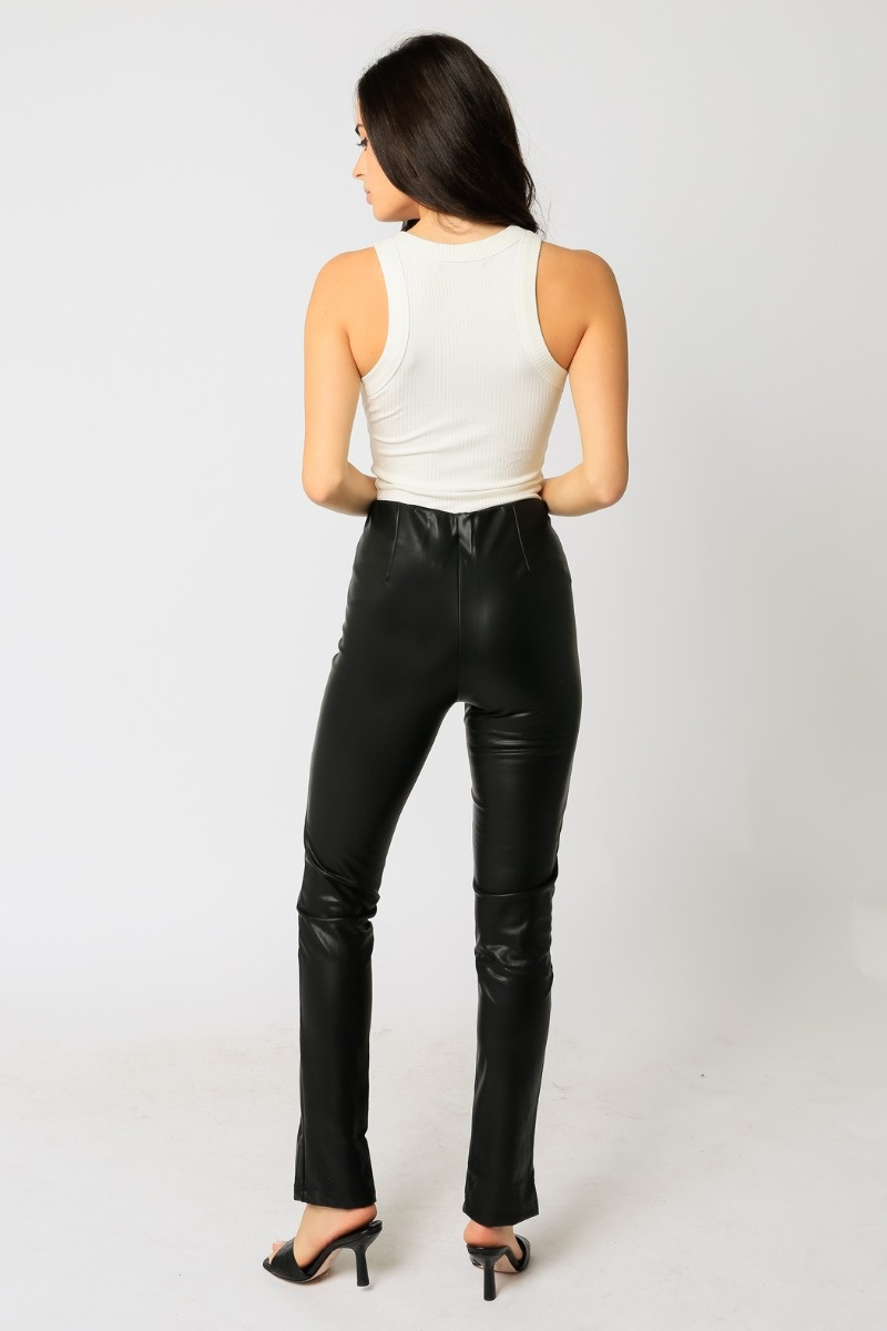 In Demand Vegan Leather Pants