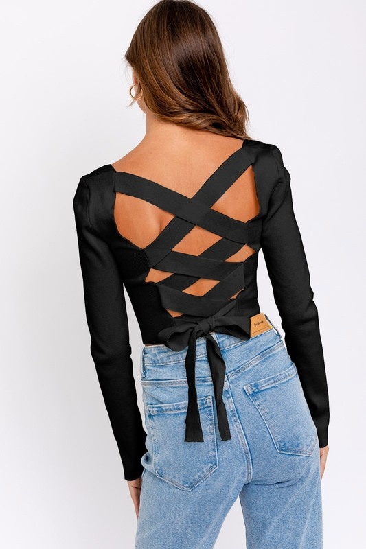 Star Crossed Lover Knit Top