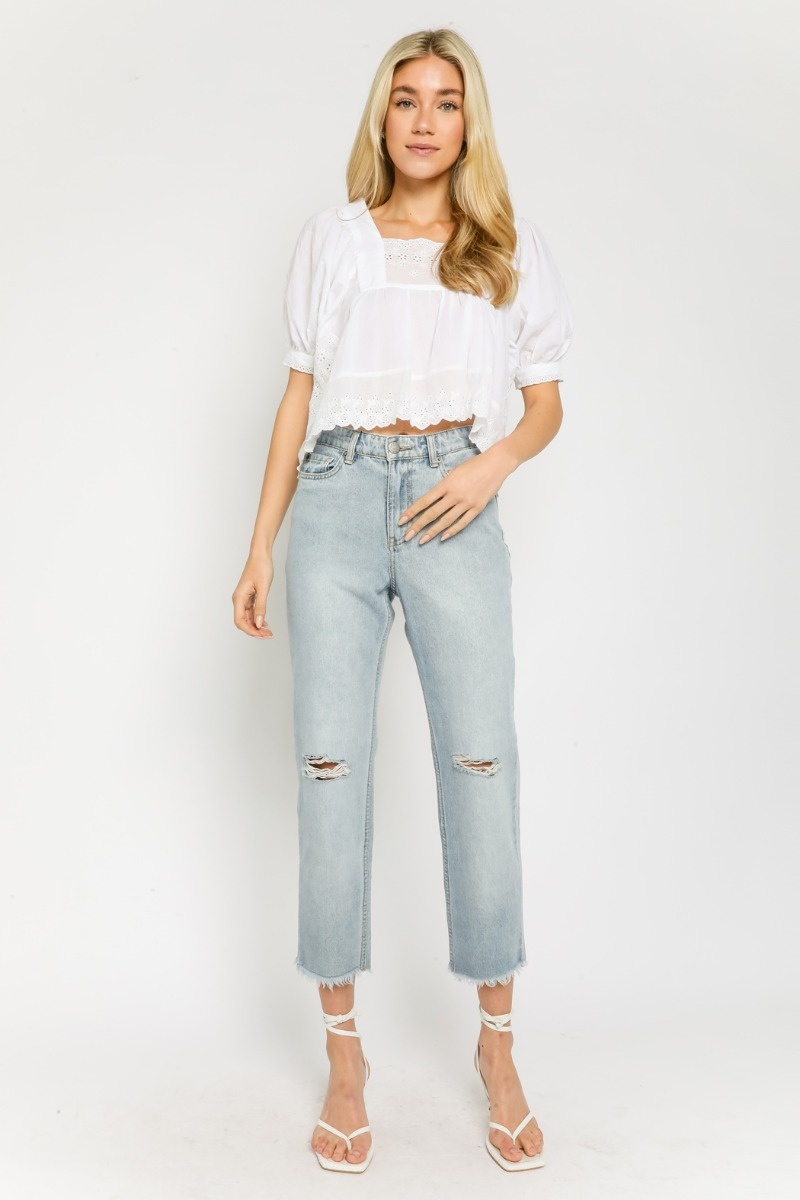 Tenley Embroidered Top