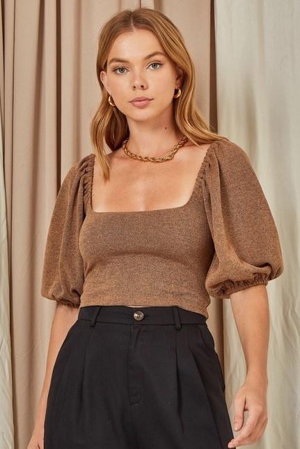 Dara Puff Sleeved Top