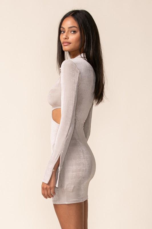 Sterling Cut-Out Mini Dress