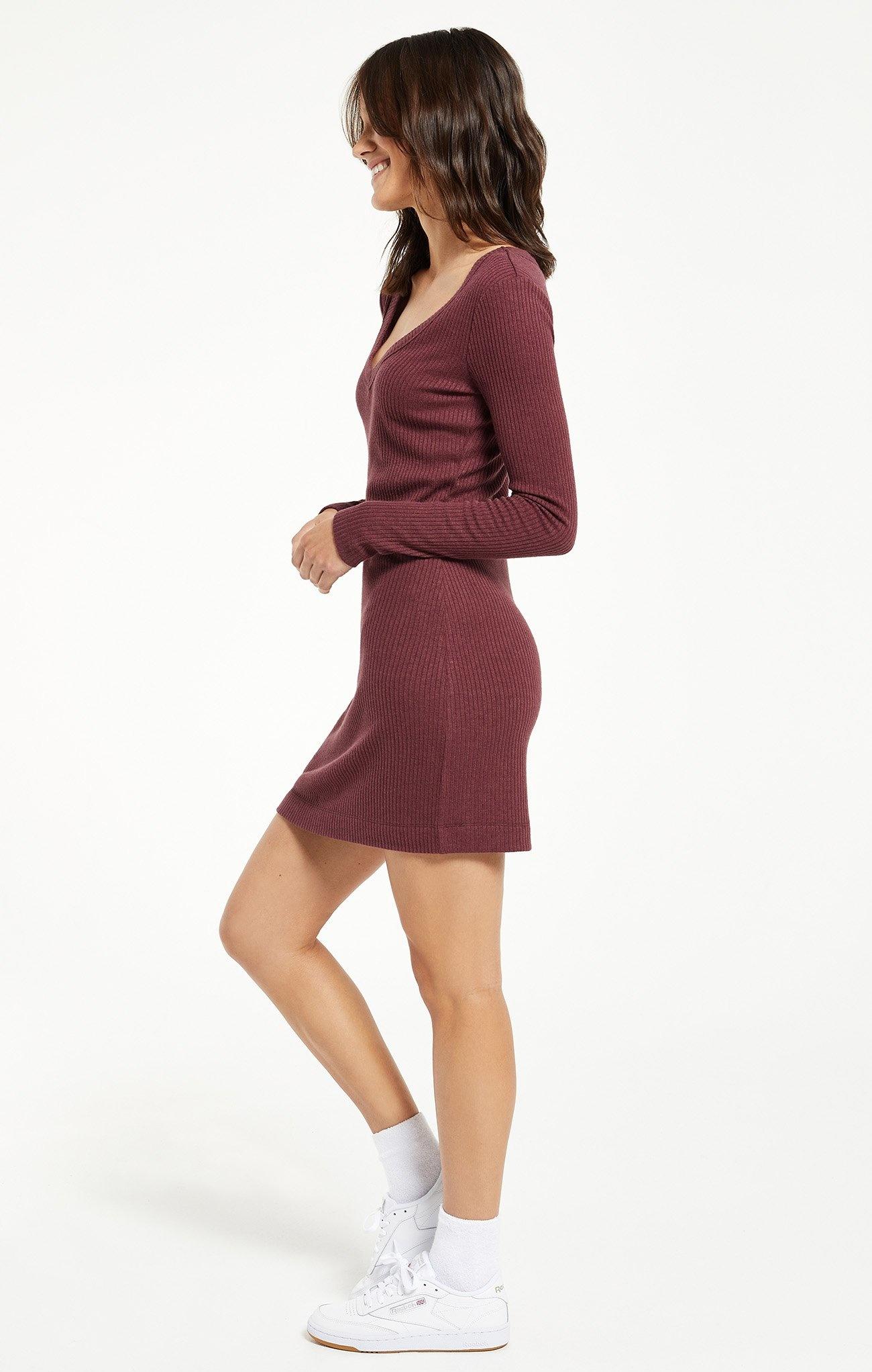 Kylin Rib Mini Dress